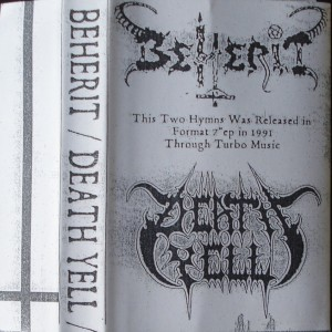 1991 - Beherit - Death Yell (Split) 01
