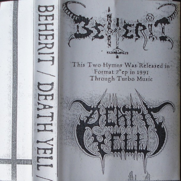 1991 - Beherit - Death Yell (Split) 01
