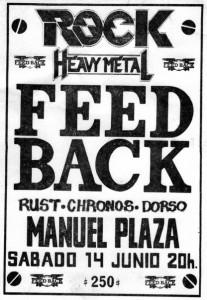 FEED BACK.RUST-CHRONOS