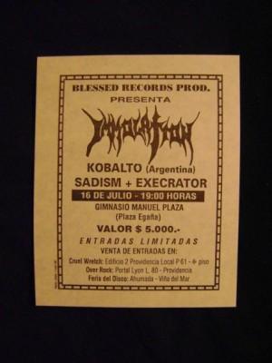 IMMOLATION-SADISM-EXECRATOR